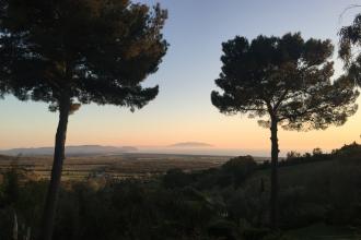 San Vincenzo - vu de Poggio ai Santi
