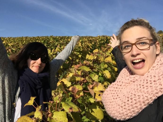 Marie (drink a beat) & Me in Switzerland