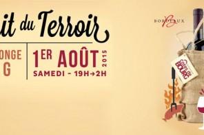 [AGENDA] La nuit du Terroir – Bourg 01/08/15
