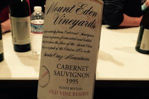Mount Eden Vineyard – Old Vine reserve – Cabernet Sauvignon 1995