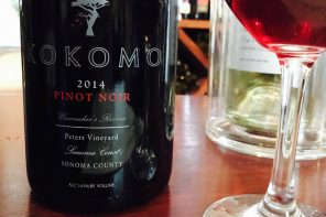 kokomo winery – sonoma coast pinot noir 2014