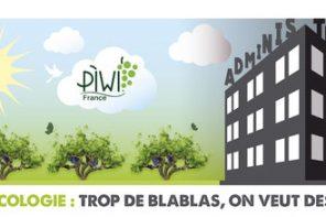 Viti-écologie: aidons le soldat PIWI