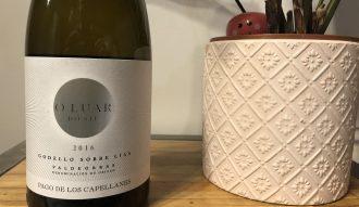 bouteille de vin o luar do sil
